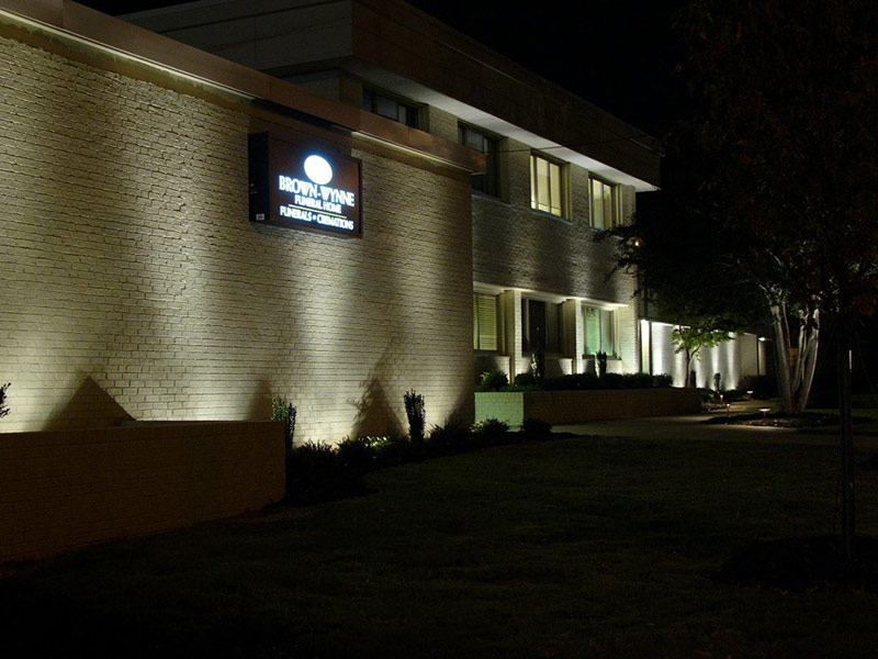 commercial exterior lighting systems