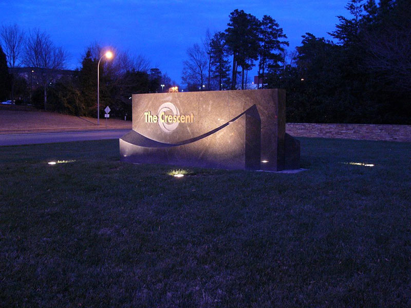 exterior lighting commercial raleigh